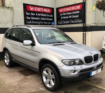 2005 BMW X5 3.0D SPORT 5DR AUTO 218 BHP, £5,500 WORTH OF FACTORY EXTRAS £3850.00
