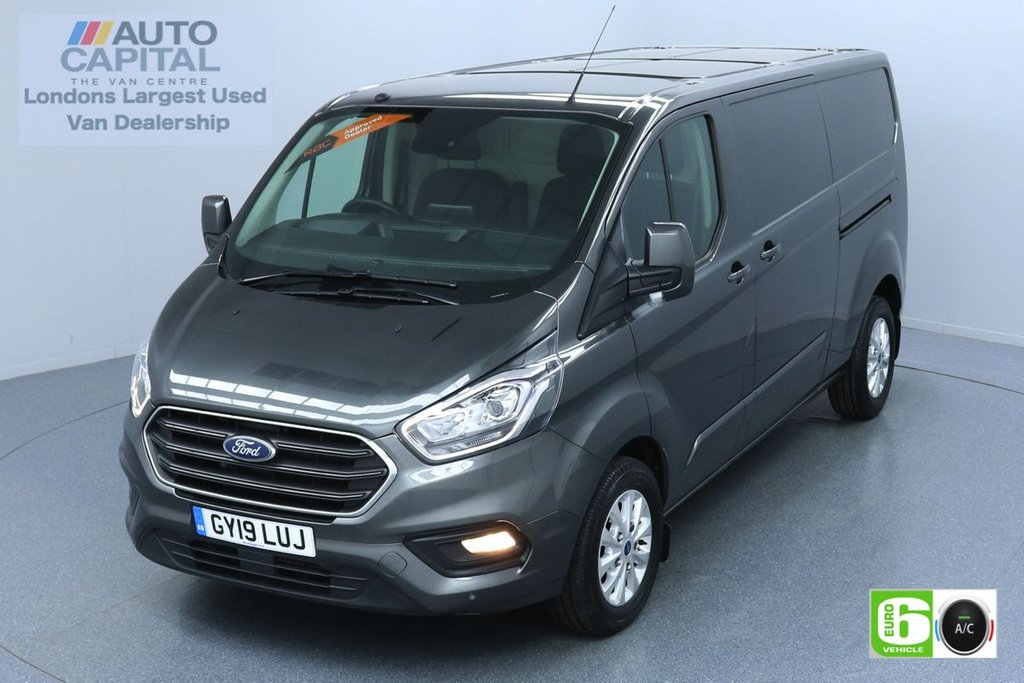 USED 2019 19 FORD TRANSIT CUSTOM 2.0 300 LIMITED L2 H1 129 BHP EURO 6 ENGINE AIR CON | PARKING SENSORS | ALLOY WHEEL | HEATED FRONT SEATS