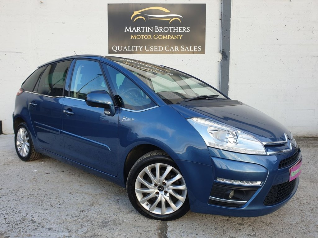USED 2012 12 CITROEN C4 PICASSO 1.6 EXCLUSIVE I 16V EGS 5d 154 BHP
