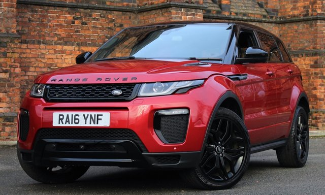2016 16 LAND ROVER RANGE ROVER EVOQUE 2.0 TD4 HSE DYNAMIC LUX 5d 177 BHP [ PANROOF ]
