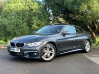 USED 2014 64 BMW 4 SERIES 3.0 430D M SPORT 2d 255 BHP M SPORT,ARROW RED LEATHER,AUTOMATIC,FSH,LOW MILES,READY TO GO!!!