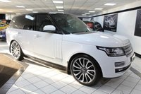 USED 2016 16 LAND ROVER RANGE ROVER 4.4 SDV8 AUTOBIOGRAPHY AUTO 339 BHP PAN ROOF 1700w MERIDIAN DEPLOYABLE TOWBAR