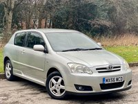 USED 2006 56 TOYOTA COROLLA 1.6 COLOUR COLLECTION VVT-I 3d 109 BHP JUST BEEN SERVICED, MOT JAN 2021
