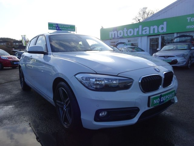 USED 2015 15 BMW 1 SERIES 1.5 116D SPORT 5d 114 BHP ** 01543 877320 ** JUST ARRIVED **SAT NAV**REAR PARKING CAMERA**