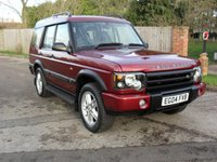 2004 LAND ROVER DISCOVERY 2.5 LANDMARK TD5 5d 136 BHP 7 SEATS SOLD