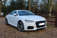 USED 2018 18 AUDI TT 2.0 TFSI QUATTRO S LINE 2d 227 BHP AUTOMATIC COUPE Heated Front Seats, Satellite Navigation, Coupe