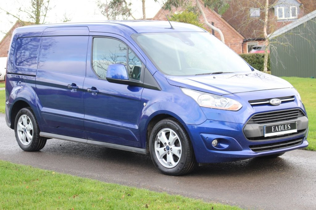 USED 2015 65 FORD TRANSIT CONNECT 1.6 240 LIMITED P/V 114 BHP Long wheel base - Twin side loading doors - 12 months MOT