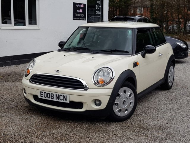 2008 08 MINI HATCH ONE 1.4 ONE 3d 94 BHP