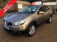 USED 2012 62 NISSAN QASHQAI 1.5 ACENTA DCI  5d 110 BHP FULLY AA INSPECTED - FINANCE AVAILABLE