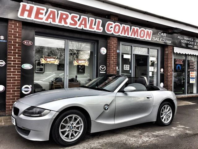 USED 2006 56 BMW Z4 2.5 Z4 SE ROADSTER 2d 175 BHP