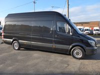 USED 2016 66 MERCEDES-BENZ SPRINTER 2.1 314CDI LWB EXTRA HI ROOF, 140 BHP [EURO 6]