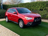 USED 2011 61 MITSUBISHI ASX 1.6 2 5d 115 BHP One Previous Owner Presented in Stunning Orient Red with a Detailed Service History. Alloy Wheels Air Confitioning with Low Running Costs and Legendary Reliability