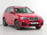 USED 2014 14 BMW X3 3.0 30d M Sport Sport Auto xDrive 5dr £4,995 of Optional Equipment