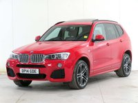 USED 2014 14 BMW X3 3.0 30d M Sport Sport Auto xDrive 5dr **FACELIFT**£7,255 of EXTRAS**
