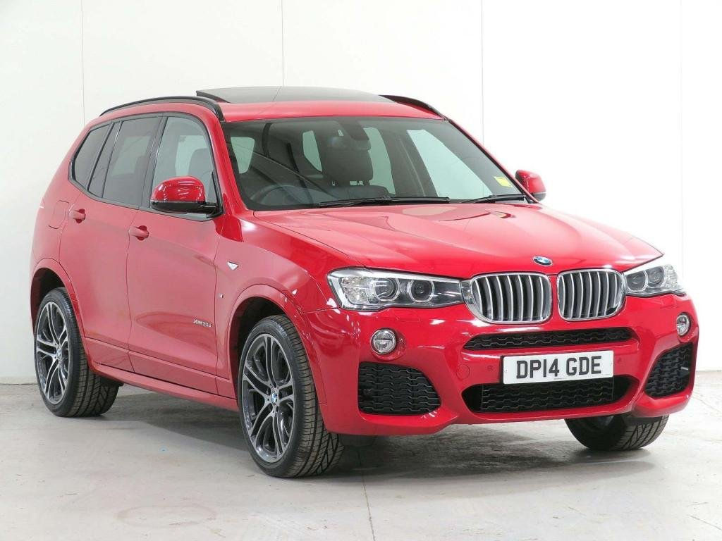 USED 2014 14 BMW X3 3.0 30d M Sport Sport Auto xDrive 5dr 7,255 EXTRA*FACELIFT*DELIVERY