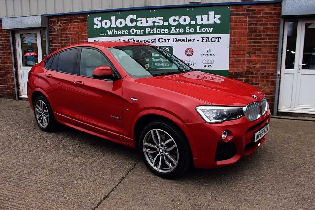 USED 2016 66 BMW X4 3.0 XDRIVE30D M SPORT 4d 255 BHP +ONE OWNER +PROFESSIONAL NAV.