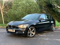 """USED 2013 13 BMW 1 SERIES 1.6 116I SPORT 5d 135 BHP SPORT SPEC, FULL BMW SERVICE HISTORY, AC, 17"""" WHEELS, BLUE TOOTH PHONE, DAB RADIO, CHEAP TO RUN AND MAINTAIN, FUN TO DRIVE, READY TO GO!!!"""
