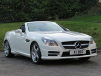 2012 MERCEDES-BENZ SLK 1.8 SLK200 BLUEEFFICIENCY AMG SPORT 2d 184 BHP £11490.00
