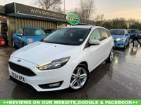 USED 2014 64 FORD FOCUS 1.6 ZETEC TDCI 5d 114 BHP