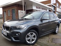 USED 2017 67 BMW X1 2.0 SDRIVE18D SE 5d 148 BHP GREAT VALUE NEWER SHAPE AUTOMATIC WITH SATELLITE NAVIGATION