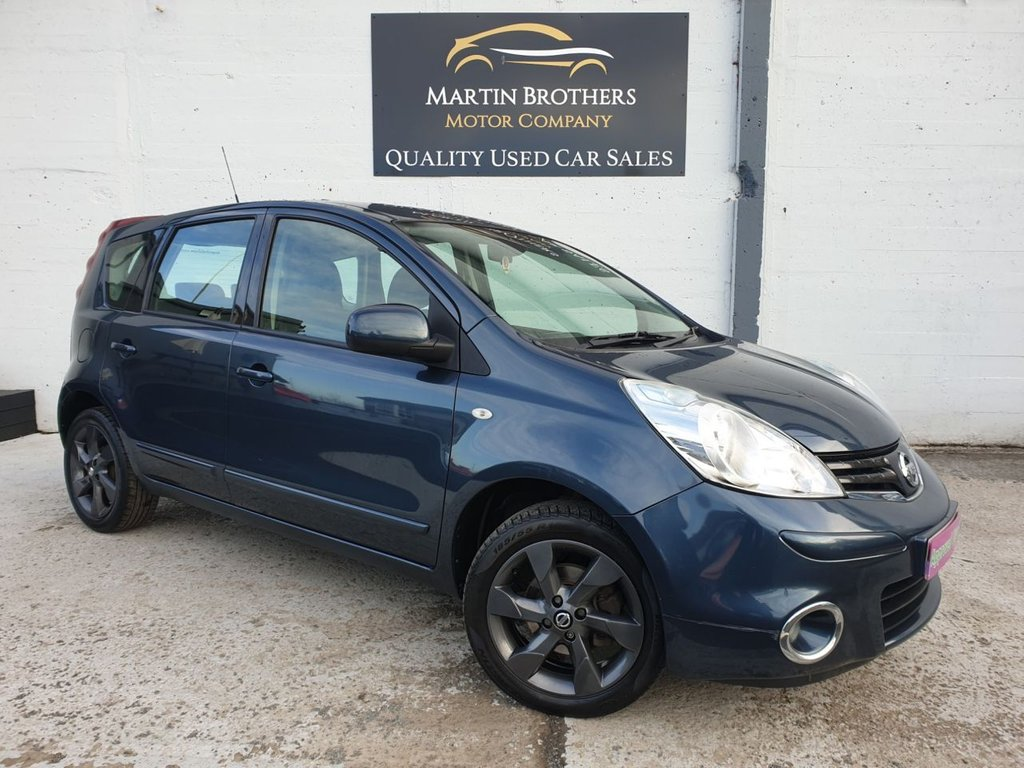 USED 2012 12 NISSAN NOTE 1.6 ACENTA 5d 110 BHP