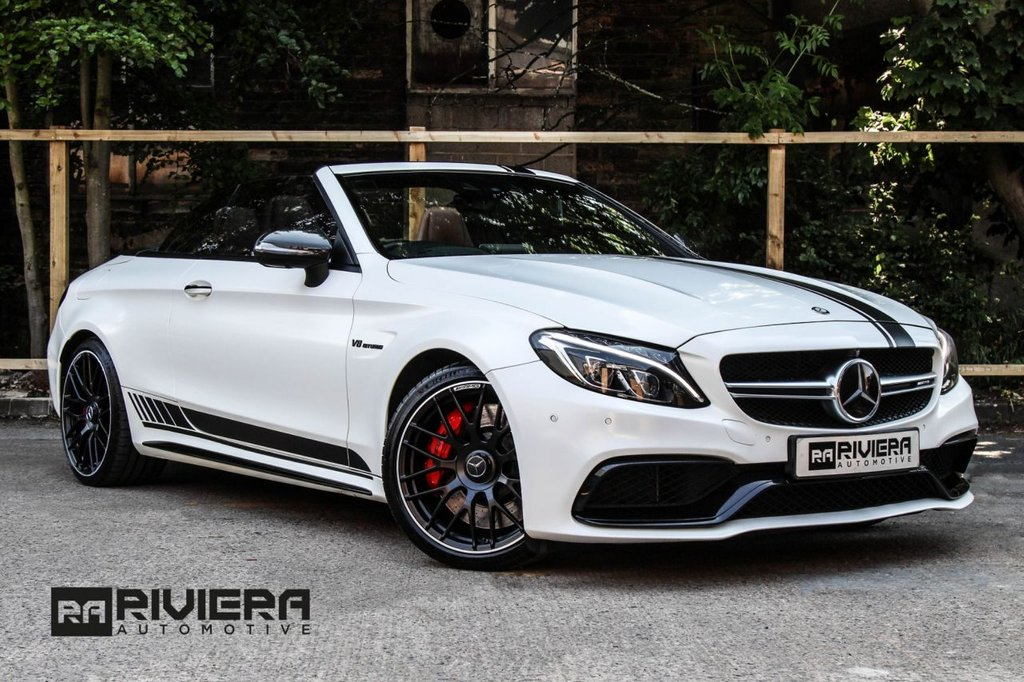 USED 2016 66 MERCEDES-BENZ C-CLASS 4.0 AMG C 63 S EDITION 1 2d 503 BHP