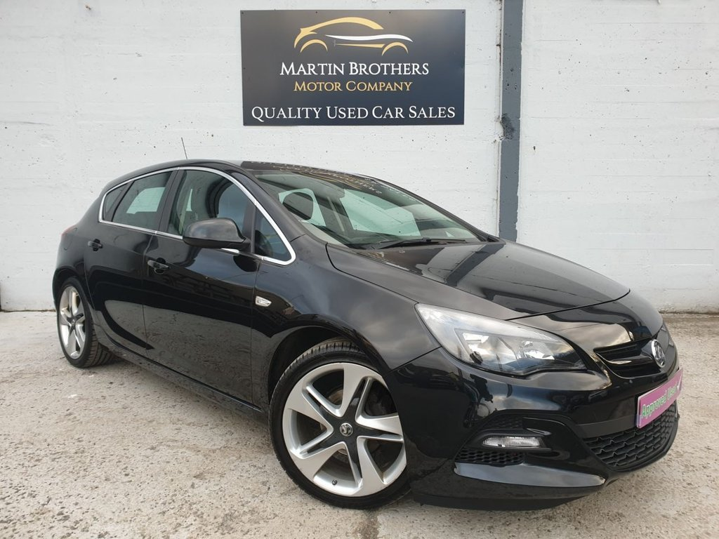 USED 2015 65 VAUXHALL ASTRA 1.4 LIMITED EDITION 5d 140 BHP