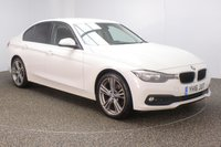USED 2016 16 BMW 3 SERIES 2.0 318D SE 4DR 148 BHP + SAT NAV + LEATHER  BMW SERVICE HISTORY + LEATHER SEATS + SATELLITE NAVIGATION + PARKING SENSOR + BLUETOOTH + CRUISE CONTROL + CLIMATE CONTROL + MULTI FUNCTION WHEEL + DAB RADIO + ELECTRIC WINDOWS + RADIO/CD/AUX/USB + ELECTRIC MIRRORS + 19 INCH ALLOY WHEELS