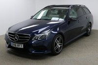 USED 2016 16 MERCEDES-BENZ E CLASS 3.0 E350 BLUETEC AMG NIGHT ED PREMIUM PLUS 5d AUTO 255 BHP Finished in stunning Cavansite Blue + 18 inch AMG diamond cut alloys + White leather + Sat Nav + Bluetooth + DAB Radio + In Car Entertainment - CD / USB / SD + Reverse camera + 1 owner + Start / Stop + Air Con + Dual climate control + Multi Function Steering Wheel + Cruise Control + Electric Folding Mirrors + Electric Windows + Electric Sunroof + Electric Boot + Harman / Kardon Audio system + Front / Rear parking sensors + Auto Lights + Heated electric memory seats + Voice control + ULEZ EXEMPT