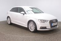 USED 2017 17 AUDI A3 1.4 SPORTBACK E-TRON 5DR AUTO 101 BHP FULL SERVICE HISTORY + HEATED HALF LEATHER + SATELLITE NAVIGATION + PARKING SENSOR + BLUETOOTH + CRUISE CONTROL + CLIMATE CONTROL + XENON HEADLIGHTS + PRIVACY GLASS + DAB RADIO + ELECTRIC WINDOWS + ELECTRIC MIRRORS + 17 INCH ALLOY WHEELS