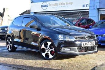 2013 VOLKSWAGEN POLO 1.4 GTI DSG AUTOMATIC 3d 177 BHP £10499.00