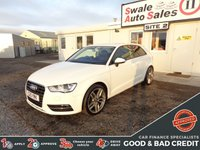 USED 2013 AUDI A3 1.4 TFSI SE 3d 121 BHP GOOD AND BAD CREDIT SPECIALISTS! APPLY TODAY!