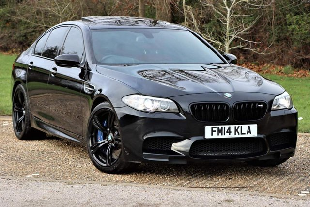 USED 2014 14 BMW M5 4.4 M DCT 4dr M POWER With Red Leather