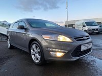 USED 2013 13 FORD MONDEO 2.0 TDCi Titanium X Powershift 5dr 2 OWNERS+AUTOMATIC+GREAT VALUE