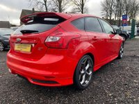 USED 2012 62 FORD FOCUS 2.0 T ST-2 5dr SATNAV+BLUETOOTH+FSH+LOW MILES