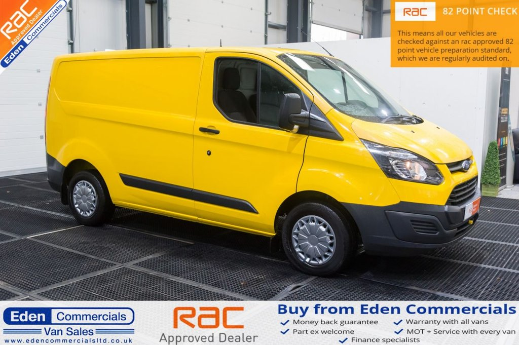 USED 2015 65 FORD TRANSIT CUSTOM 2.2 310 LR P/V 124 BHP * AIR CON + HEATED SEATS *