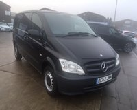 2013 MERCEDES-BENZ VITO 2.1 113 CDI BLUEEFFICIENCY 136 BHP SOLD