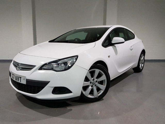 USED 2014 G VAUXHALL ASTRA 1.4 GTC SPORT S/S 3d 118 BHP CRUISE CONTROL + SPEED LIMITER + MULTI FUNCTION WHEEL + VOICE CONTROL + BLUETOOTH