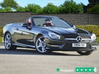 USED 2014 E MERCEDES-BENZ SL 3.5 SL350 AMG SPORT 2d 306 BHP Red Nappa Leather