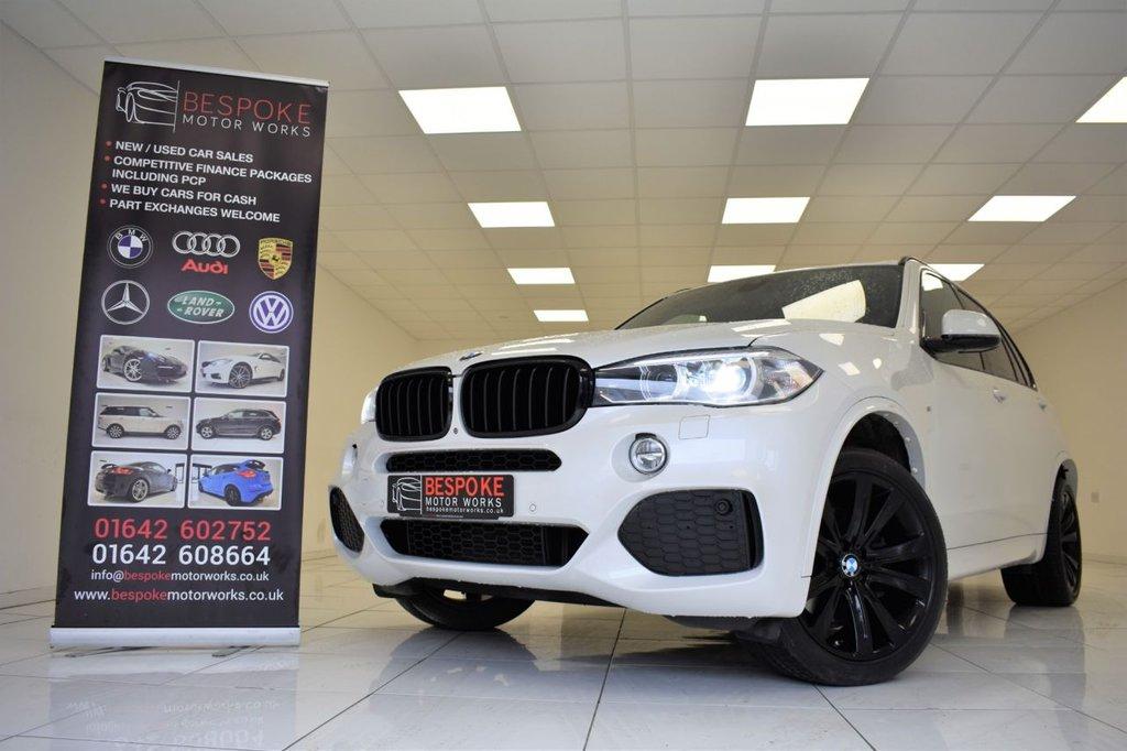 USED 2015 65 BMW X5 XDRIVE40D M SPORT AUTOMATIC