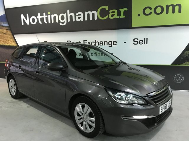 USED 2017 66 PEUGEOT 308 1.6 BLUE HDI S/S SW ACTIVE 5d 120 BHP