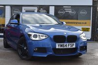 USED 2015 64 BMW 1 SERIES 2.0 125D M SPORT 5d 215 BHP NO DEPOSIT FINANCE AVAILABLE