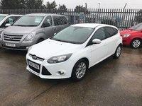 2012 FORD FOCUS 1.6 TITANIUM 5d 124 BHP £5999.00