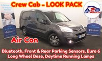 USED 2018 18 CITROEN BERLINGO 1.6 BLUE HDI 100 BHP CREW CAB LONG WHEEL BASE LOOK PACK in Shark Grey Metallic with Air Conditioning, Bluetooth, Front & Rear Parking Sensors, Daytime Running Lamps, Front Fog Lamps and more ** Drive Away Today** Over The Phone Low Rate Finance Available, Just Call us on 01709 866668 **