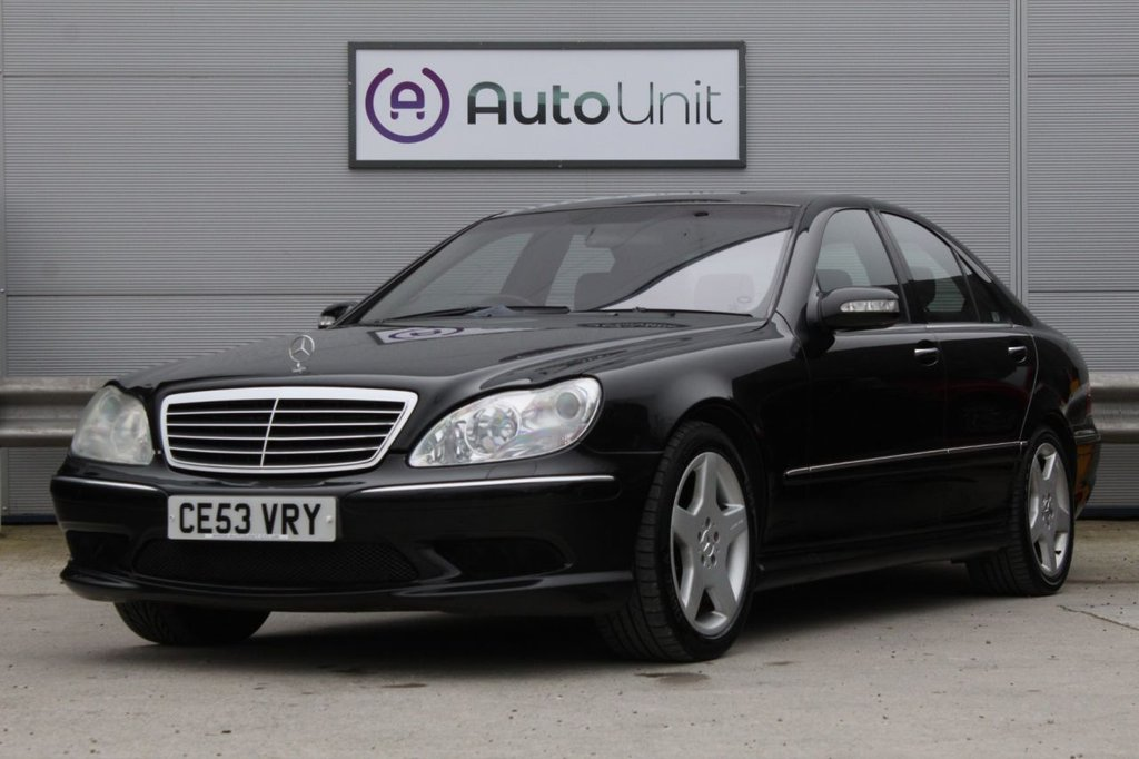 USED 2003 53 MERCEDES-BENZ S-CLASS 5.0 S500 4d 302 BHP ~ RARE S500 | FULLY LOADED | NAV | LEATHER | AIR SUSPENSION CRUISE | DUAL CLIMATE | SAT NAV | HEATED LEATHER SEATS