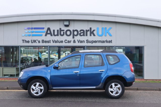USED 2013 13 DACIA DUSTER 1.5 LAUREATE DCI 5d 107 BHP LOW DEPOSIT OR NO DEPOSIT FINANCE AVAILABLE