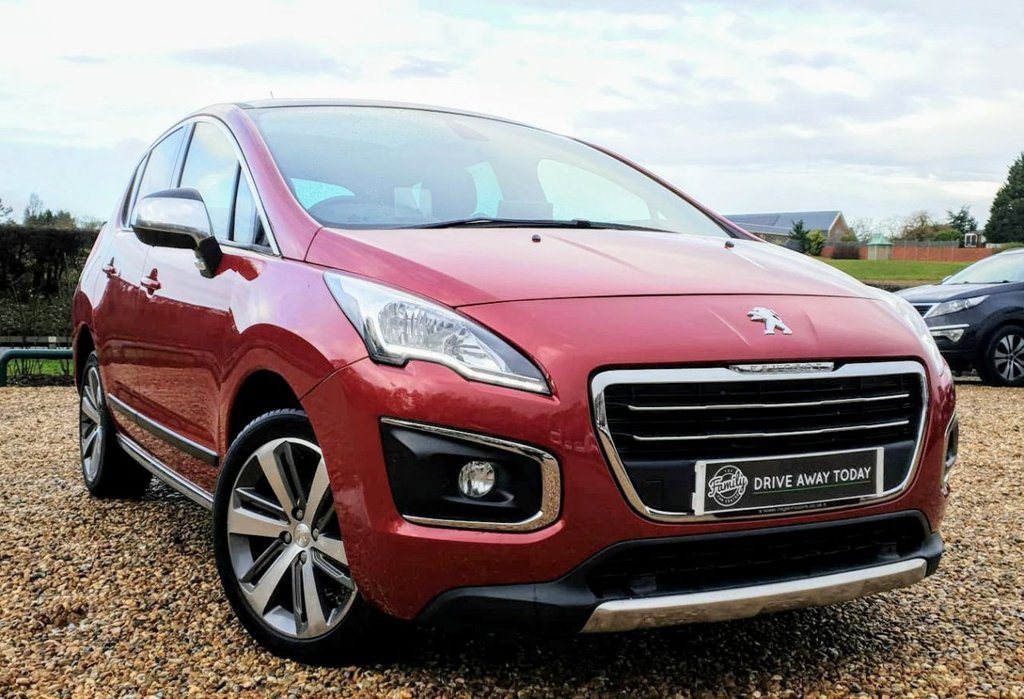 USED 2014 64 PEUGEOT 3008 1.6 E-HDI ALLURE 5d 115 BHP ***ONE OWNER FROM NEW AND FULL SERVICE HISTORY***