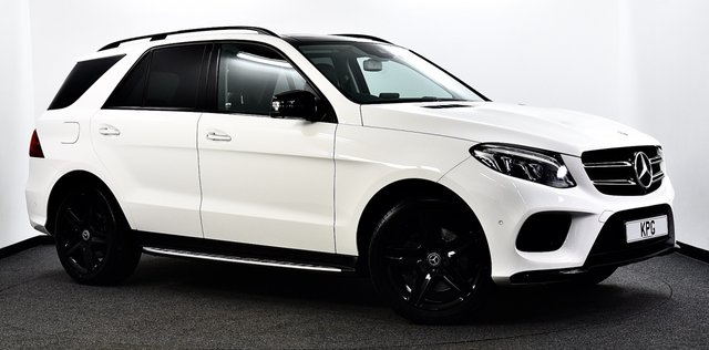 USED 2017 67 MERCEDES-BENZ GLE-CLASS 2.1 GLE250d AMG Line (Premium Plus) G-Tronic 4MATIC (s/s) 5dr Pan Roof, Night Pack, £58k New