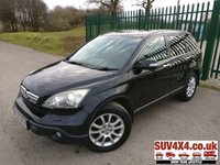 USED 2007 57 HONDA CR-V 2.2 I-CTDI EX 5d 139 BHP MOT 09/20 SATELLITE NAVIGATION. BLACK MET WITH BLACK LEATHER TRIM. HEATED SEATS. CRUISE CONTROL. COLOUR CODED TRIMS. AIR CON. R/CD PLAYER. MFSW. MOT 09/20. AGE/MILAGE RELATED SALE. P/X CLEARANCE CENTRE - LS23 7FQ - TEL 01937 849492 OPTION 3