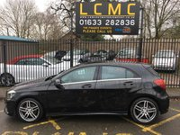 USED 2017 17 MERCEDES-BENZ A CLASS 2.1 A 200 D AMG LINE 5d 134 BHP STUNNING COSMOS BLACK METALLIC WITH HALF BLACK ARTICO LEATHER UPHOLSTERY. ONLY TWO OWNERS FROM NEW. SATELLITE NAVIGATION. PRIVACY GLASS. PARKING SENSORS. CRUISE CONTROL. AIR CONDITIONING. ELECTRIC WINDOWS. REMOTE CENTRAL LOCKING. ALLOY WHEELS. PLEASE GOTO www.lowcostmotorcompany.co.uk TO VIEW OVER 120 CARS IN STOCK